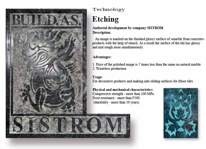 Technology Sistrom - Etching